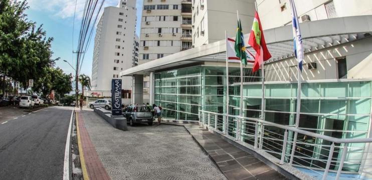 Castelmar Hotel em Florianópolis: Localização Estratégica