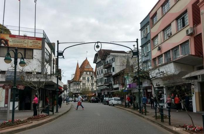 Rua XV de Novembro em Blumenau