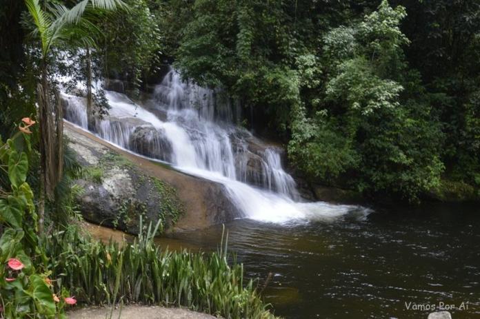 Cachoeira da Usina em Parati