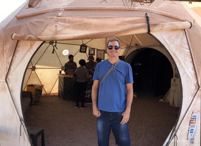 Museu do Meteorito no Deserto do Atacama