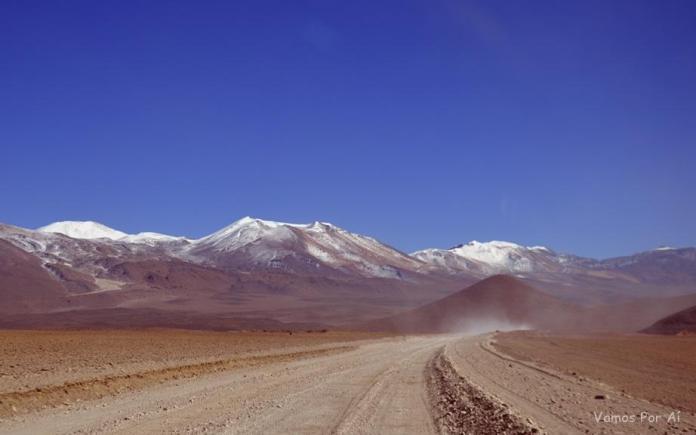 tour pelas lagunas da Bolívia