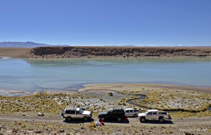 Termas de Polques, Sol de Mañana Geysers e Lagunas da Bolívia