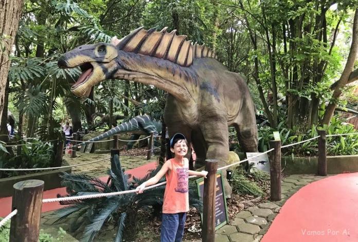 Mundo dos Dinossauros em São Paulo