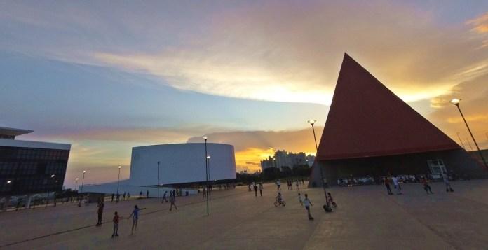 Centro Cultural Oscar Niemeyer em Goiânia