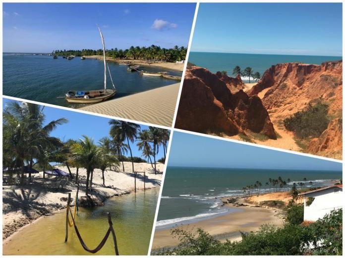 Belas praias do Ceará: Morro Branco, Lagoinha