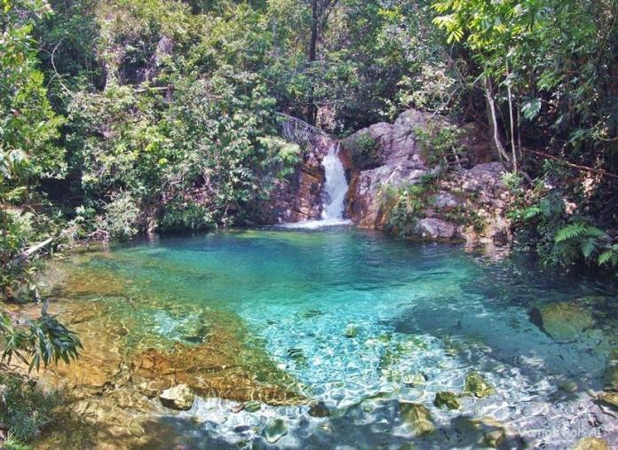 Cachoeira Santa Barbarazinha Chapada