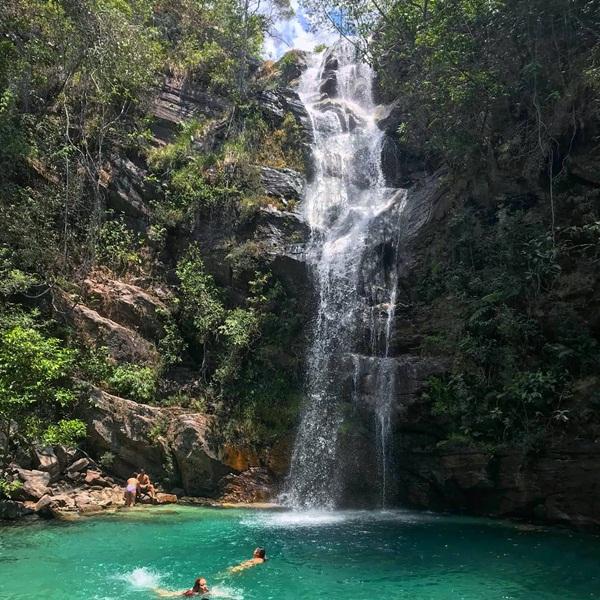 quanto custa ir na cachoeira santa barbara, como chegar a cachoeira santa barbara na chapada