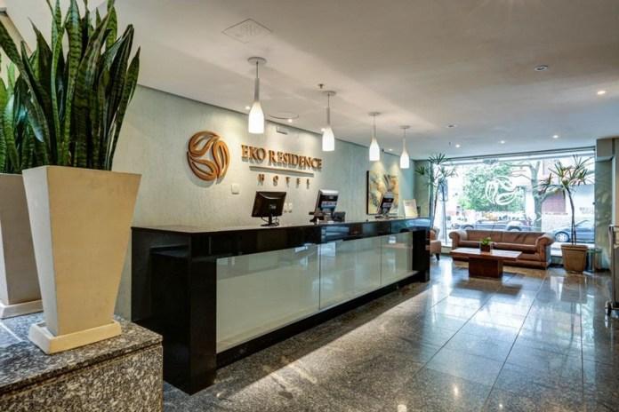 Eko Residence Hotel em Porto Alegre localização