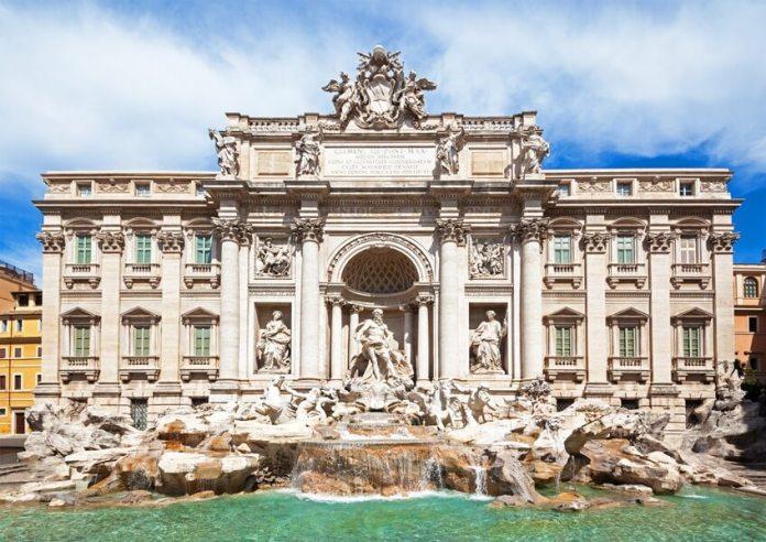 Melhores pontos turísticos de Roma: Fontana di Trevi