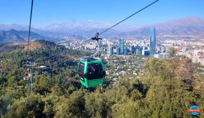 Melhores viagens de 2018: Santiago do Chile