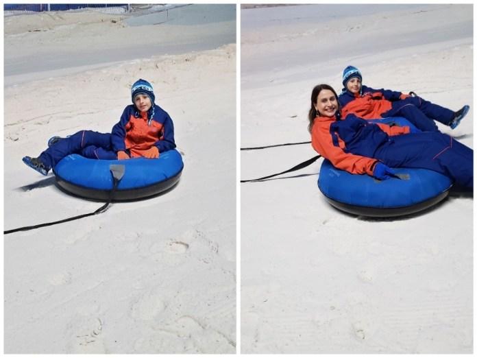 Tubing no Snowland em Gramado
