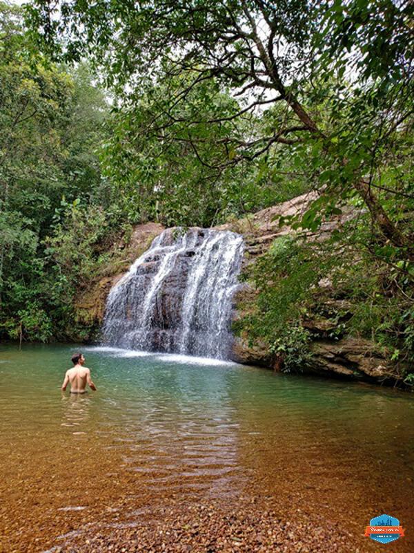 Cachoeira da Cascatinha em Caldas Novas
