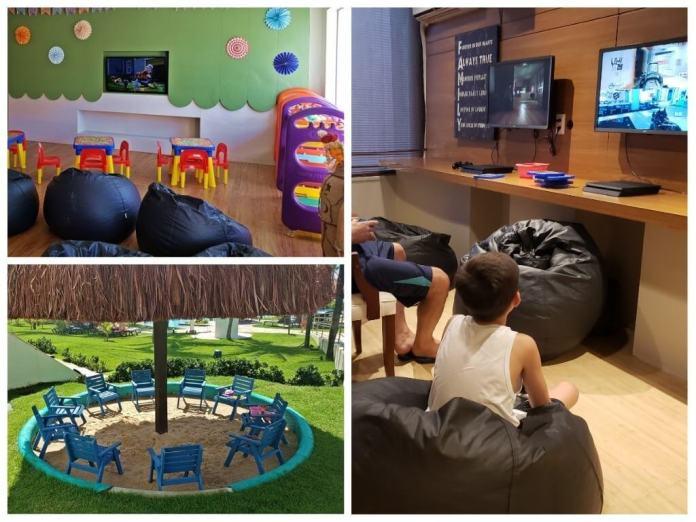 como é a recreação infantil do Wish Hotel