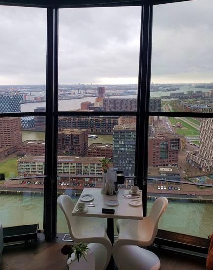 Euromast em Rotterdam, rooftop em Rotterdam, rooftop roterdã, onde ver rotterdam do alto