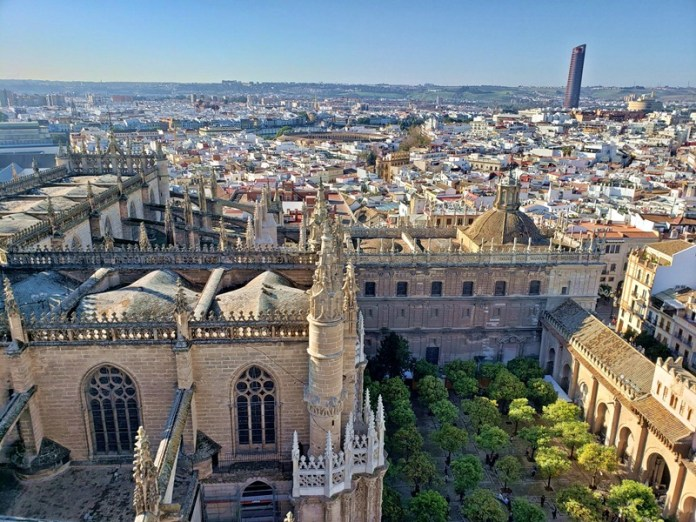 Sevilha Espanha, Sevilha, Seville,, Torre La Giralda