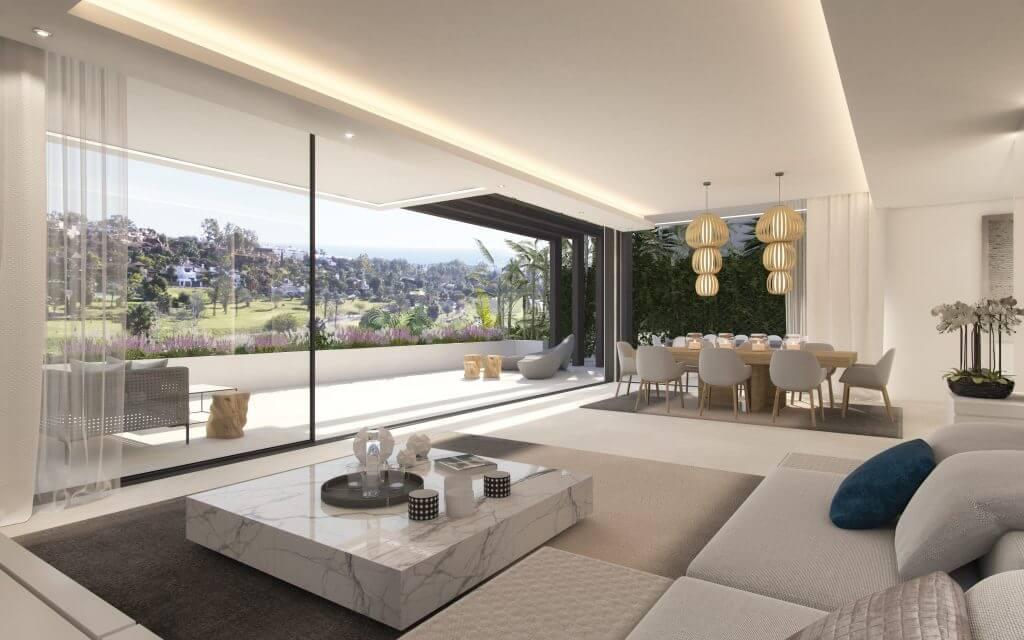 Belfry moderne villas nummers 7  8 in kleinschalig
