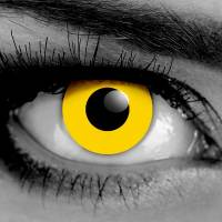 Vampfangs - Yellow Zombie - Zombie - Contact Lenses - Halloween Vampire Contacts - Trusted Since 1993