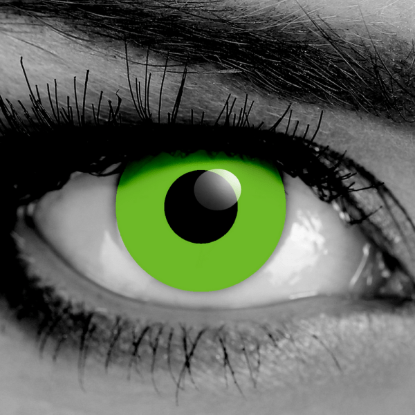 GOTHIKA Green Zombie FX Contact Lenses