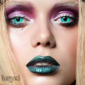 vampfangs blue zombie contact lenses