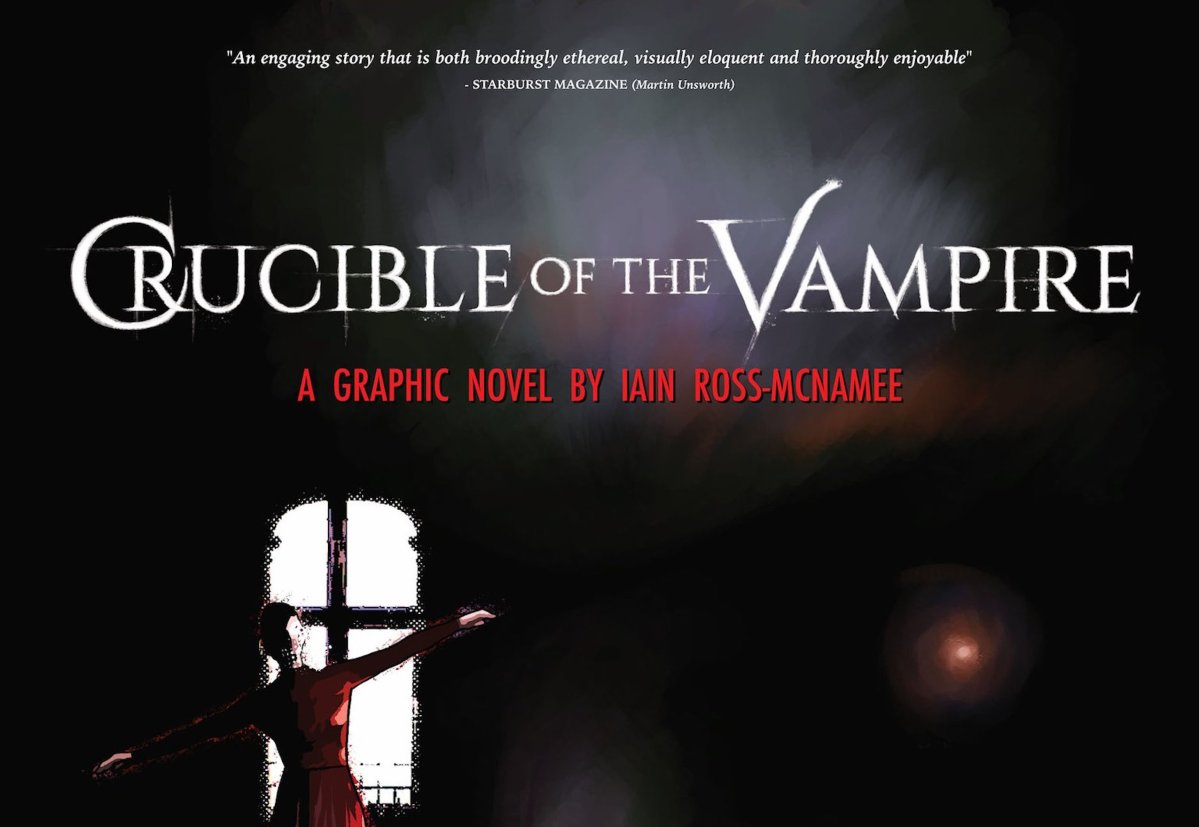 'Crucible of the Vampire': A Throwback to Classic British Horror in Graphic Novel Form