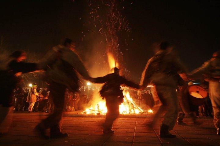Samhain+bonfire