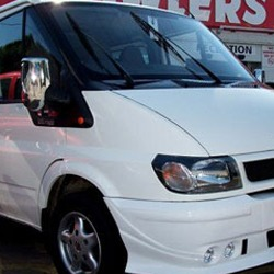 ABS Chrome Mirror Covers for Ford Transit MK6 / MK7-0