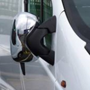 ABS Mirror Covers Chrome for Renault Trafic-0