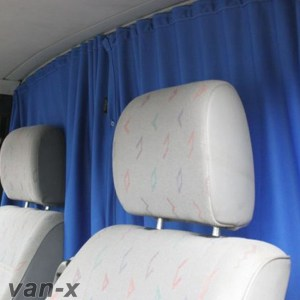 Cab Divider Curtain Kit for Mercedes Vito-0