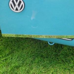 Barndoor Edge Trim for VW T4 Transporter Stainless Steel -0