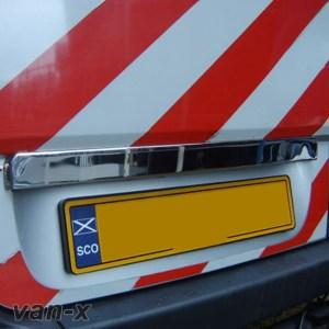 Number Plate Trim for VW Crafter Stainless Steel 2007+-0