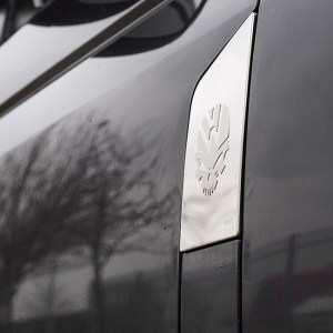 Skull Fuel Cap Flap Cover for VW T5 Transporter-0