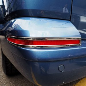 Tailgate Bumper Reflector Trims For VW T6 Transporter-0