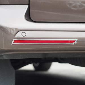 Barndoor Rear Bumper Reflector Trims For VW T6 Transporter-0