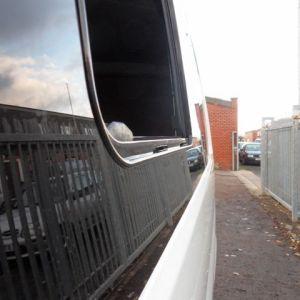 Side SLIDING Window Smoked Glass for VW T6 Transporter-8355