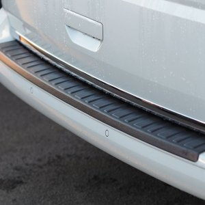 Rear Bumper Protector BLACK for VW T6 TAILGATE-8371