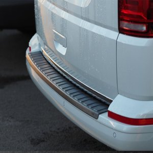Rear Bumper Protector BLACK for VW T6 TAILGATE-8375