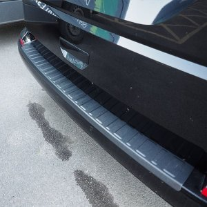 Rear Bumper Protector BLACK for VW T6 TAILGATE-8377