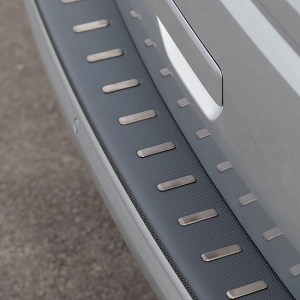 Rear Bumper protector for VW T6 (Tailgate ONLY) Carbon Fiber Film-0