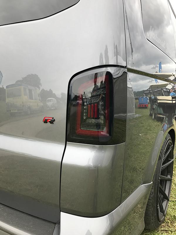 LED Rear Lights for VW T5 & T5.1 Transporter TAILGATE NEW LIVE indicator rear lights (Audi Style)-20254