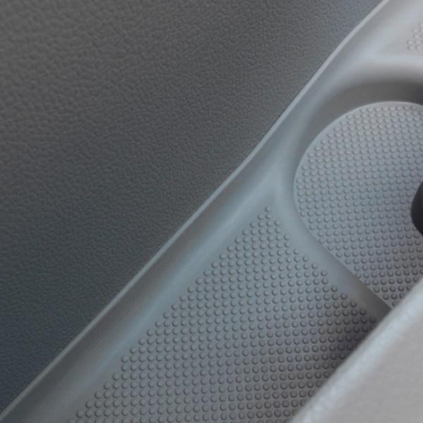 Rubber Door Pocket Inserts for VW T6 Transporter GREY-20643