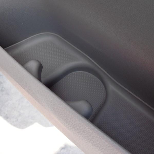Rubber Door Pocket Inserts for VW T6 Transporter GREY-20639