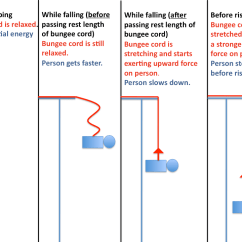 Diagram Of The Transfer Kinetic Energy 2004 Dodge Stratus O2 Sensor Wiring Q & A: Force In Bungee Jumping. | Department Physics University Illinois At Urbana ...