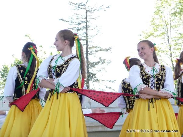 精彩的波兰舞蹈