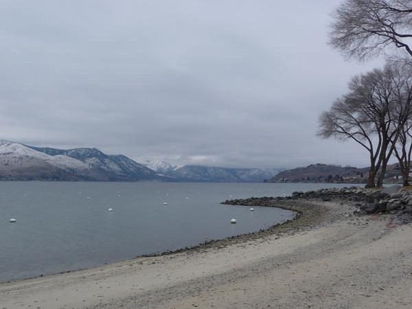 圣诞Chelan湖