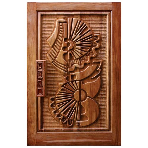 Carved Designer Pivot Doors