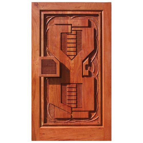Van Acht Designer Carved Pivot Door Africa 4