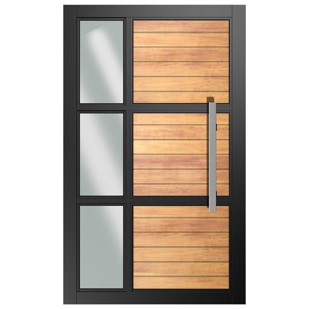 Van Acht Designer YOSO Contemporary Pivot Door Y6