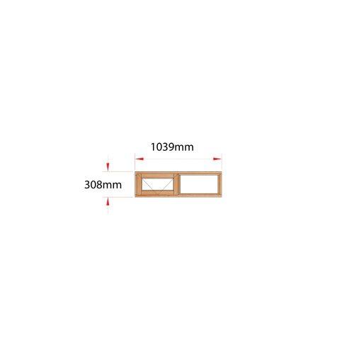Van Acht Wood Fanlight Windows Full Pane Product ME22