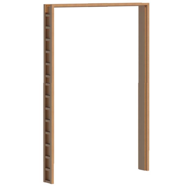 Van Acht Wood Interior Door Frame Jambliner J250DR MSF 1230X2320