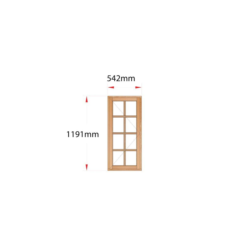 Van Acht Wood Windows Side Hung Small Pane MB1SP LH